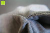 Nähte: Yidarton Frauen Lange Aermel Double Split Hoodie Pullover Pockets Sweater Kapuzenpullover