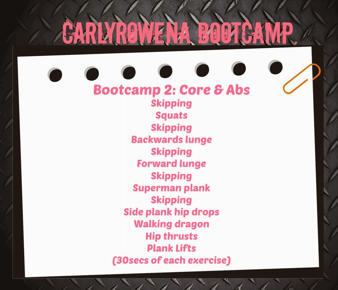 FLAT TUMMY BOOTCAMP | WEEK 2