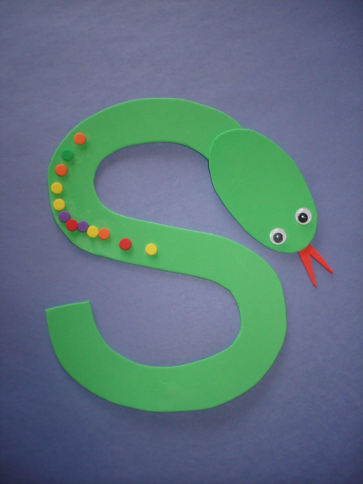 Letter 'S' Snake