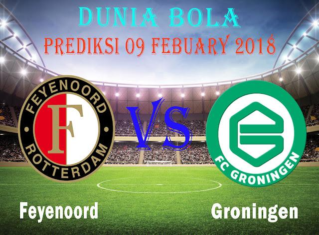 Prediksi Bola Feyenoord vs Groningen 09 Febuary 2018