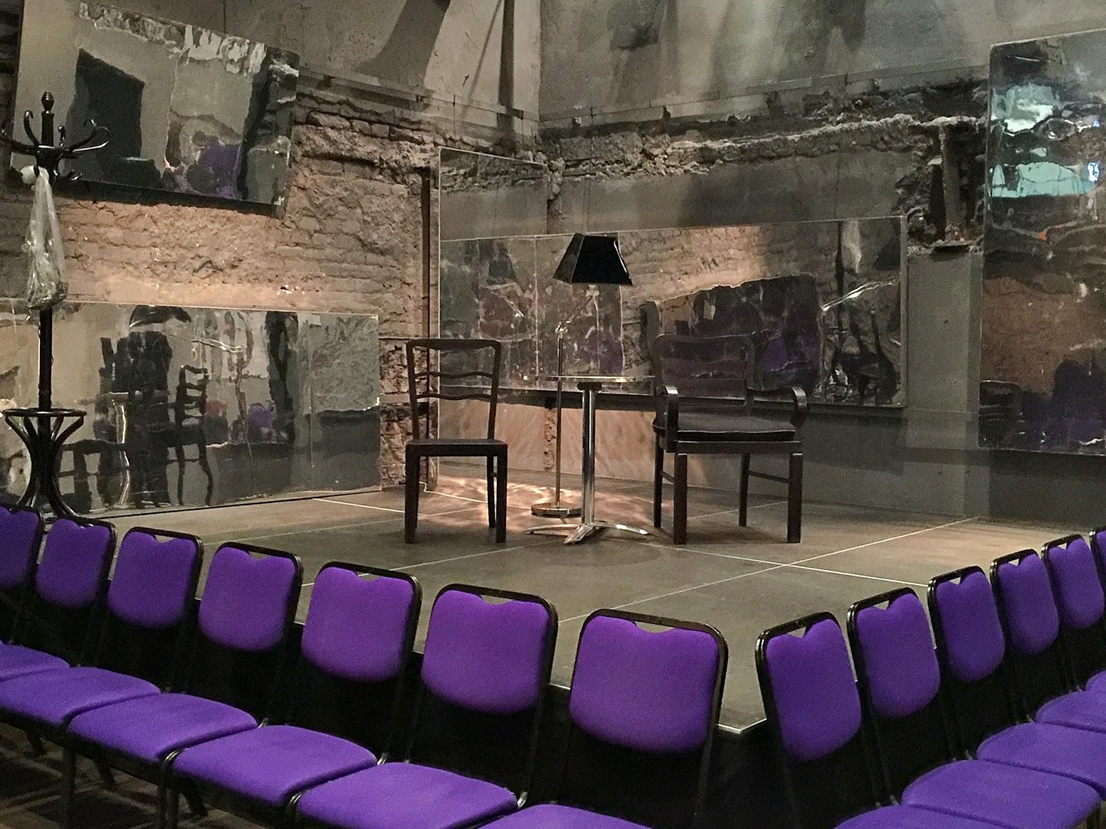 """Teatr Polonia Warszawa """"Dobry wieczór państwu""""."""