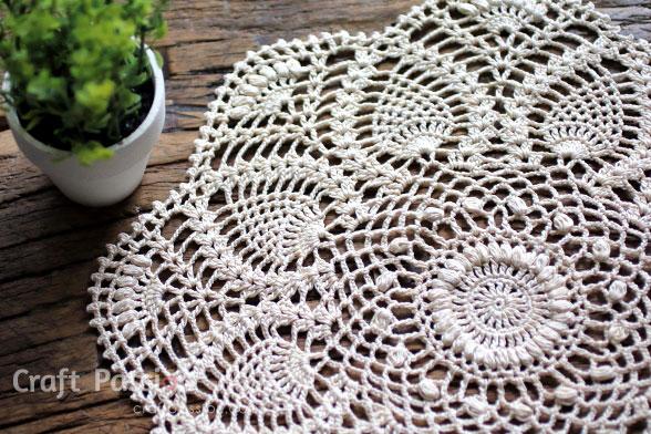 Ergahandmade Crochet Doily Diagram Free Pattern Step By Step