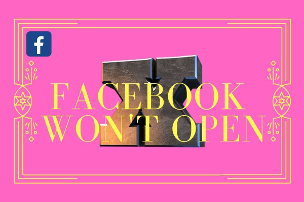 Facebook Won't Open