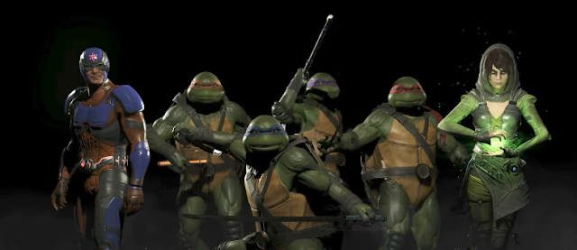 Las Tortugas Ninja, Encantadora y Átomo llegarán a Injustice 2