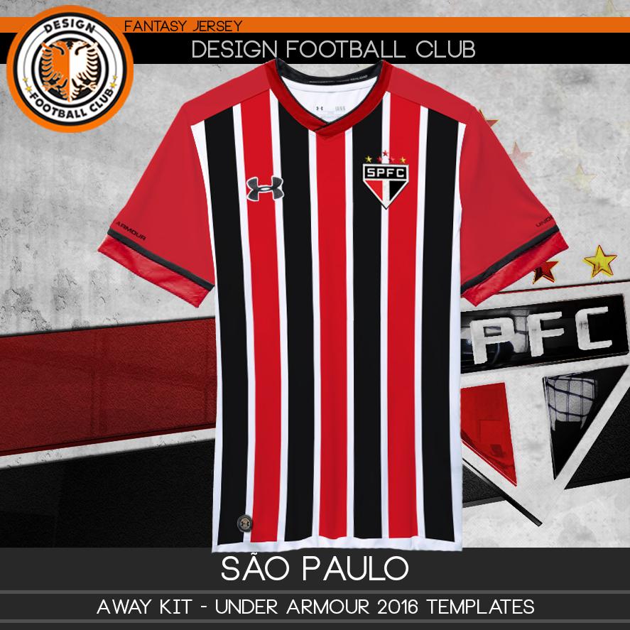 f4ae66cac7e Design Football Club  São Paulo - Under Armour 2016 2017