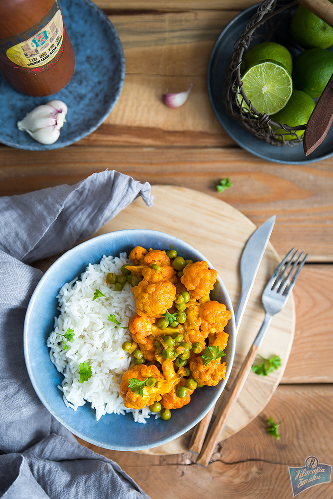 Curry z kalafiora przepis
