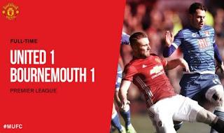 MU Diimbangi Bournemouth, Ibrahimovic Akui Bertanggung Jawab
