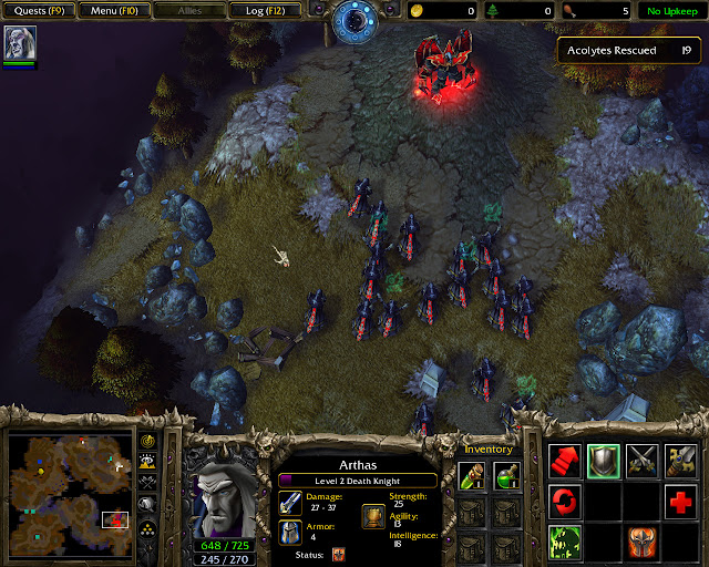 Trudging Trough the Ashes Mission 12 | Acolytes Screenshot | Warcraft 3: Reign of Chaos