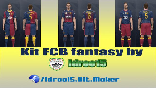 4f6814398 FC Barcelona Fantasy Kits - PES 2017 - PATCH PES