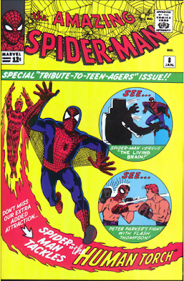 Spider-Man Comic Covers from 1964