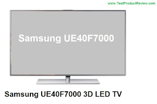 Samsung UE40F7000 3D LED TV review