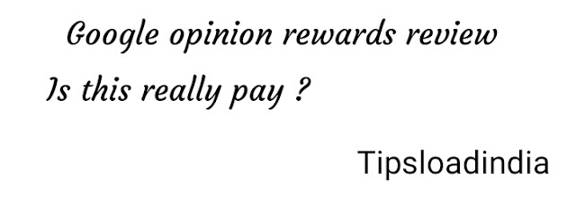 Review, Google opinion rewards