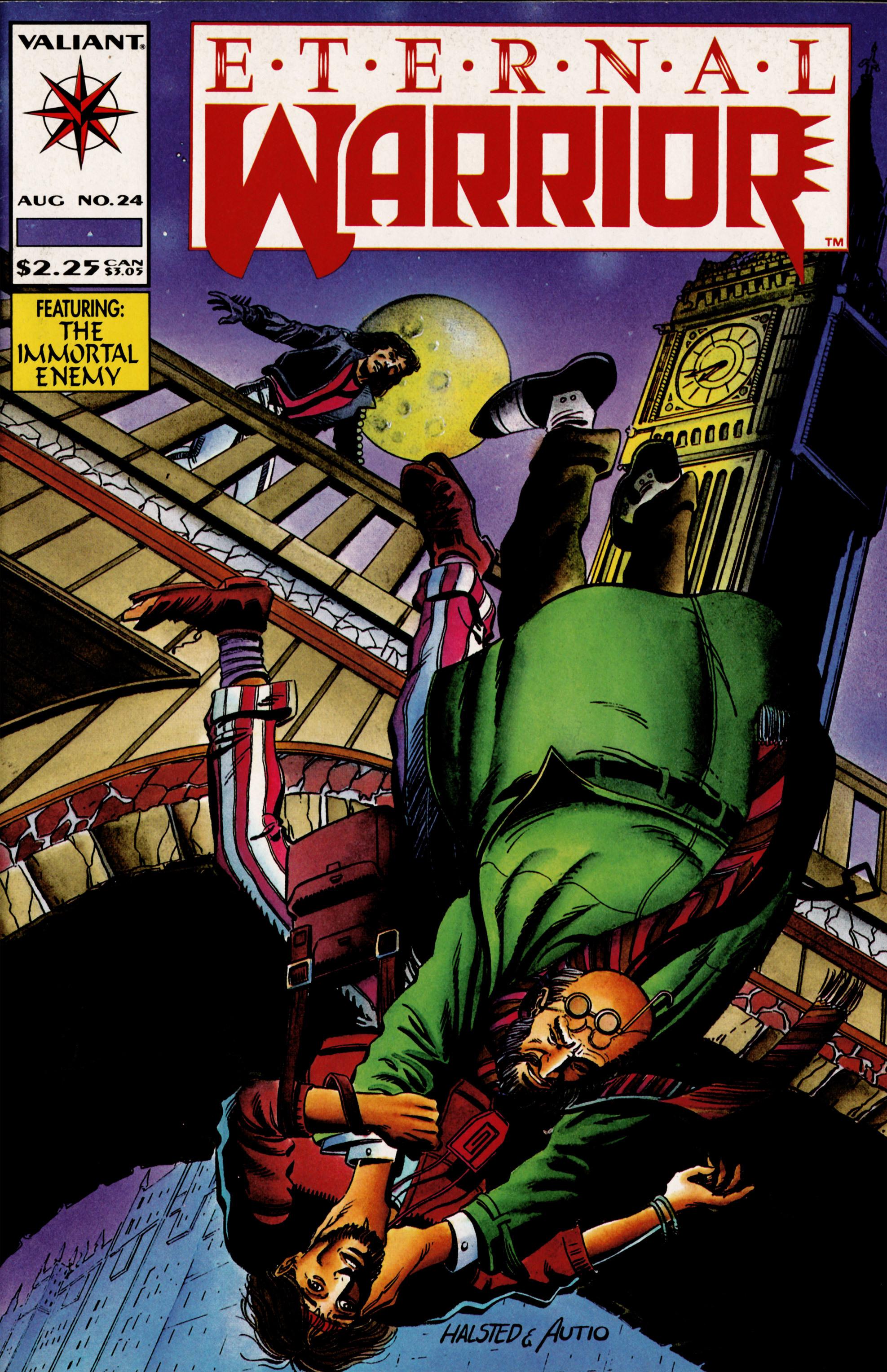 Read online Eternal Warrior (1992) comic -  Issue #24 - 1