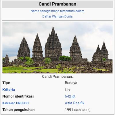 Salah satu objek wisata yang wajib sobat kunjungi saat liburan ke Jogja adalah Candi Prambanan