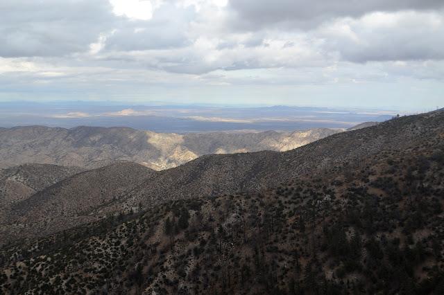 flat distant desert
