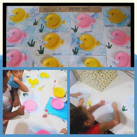 Atividade com Material concreto Educação Infantil