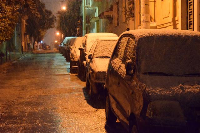 EKTAKTO Από τις 11.30 το βράδυ.Δείτε σε ποια σημεία της Αττικής &της ΑΘΗΝΑΣ  έχει διακοπεί η κυκλοφορία λόγω των καιρικών φαινομένων