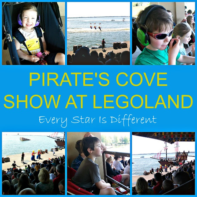 Pirate's Cove Show at LEGOLAND with special needs