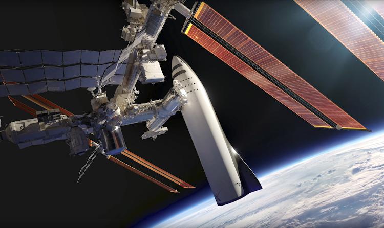 Илон Маск & SpaceX, Презентация BFR — Международная КосмическаяСтанция
