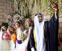 Kuwait Guy Married 4 Girls at a Same Day