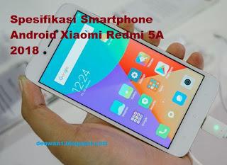 Smartphone xiaomi redmi 5a 2018