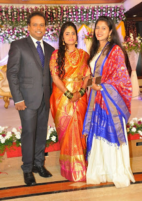 Comedian Harish Wedding Reception _9