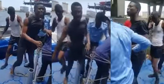Suicidal Man Jumps Into Lagos Lagoon, Rescued and Arrested