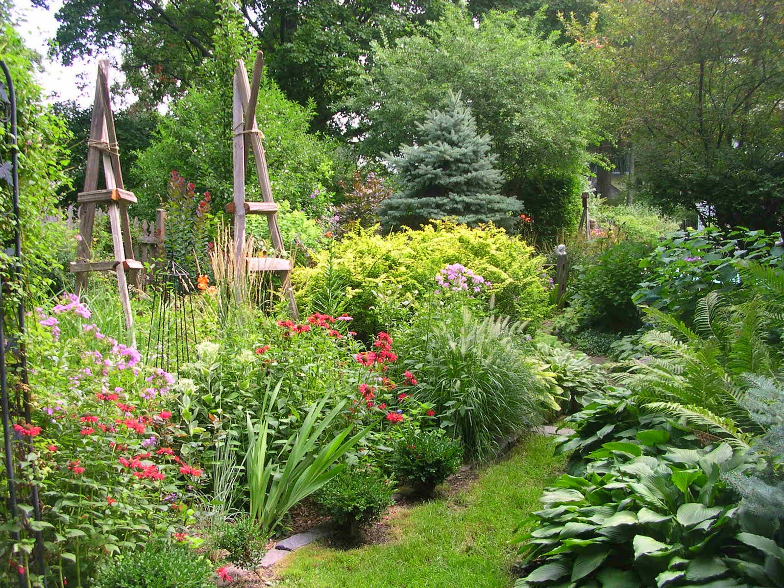 Woodstock IL Garden Club Blog: August Garden Of The Month