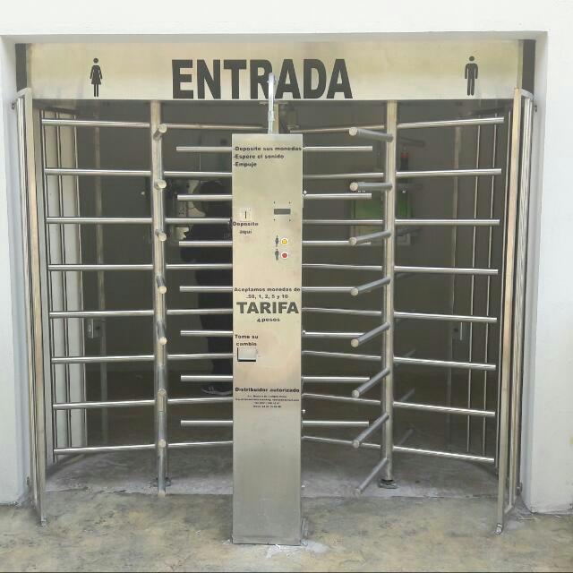 Torniquete doble Bidireccional CDO Orizaba Ver.