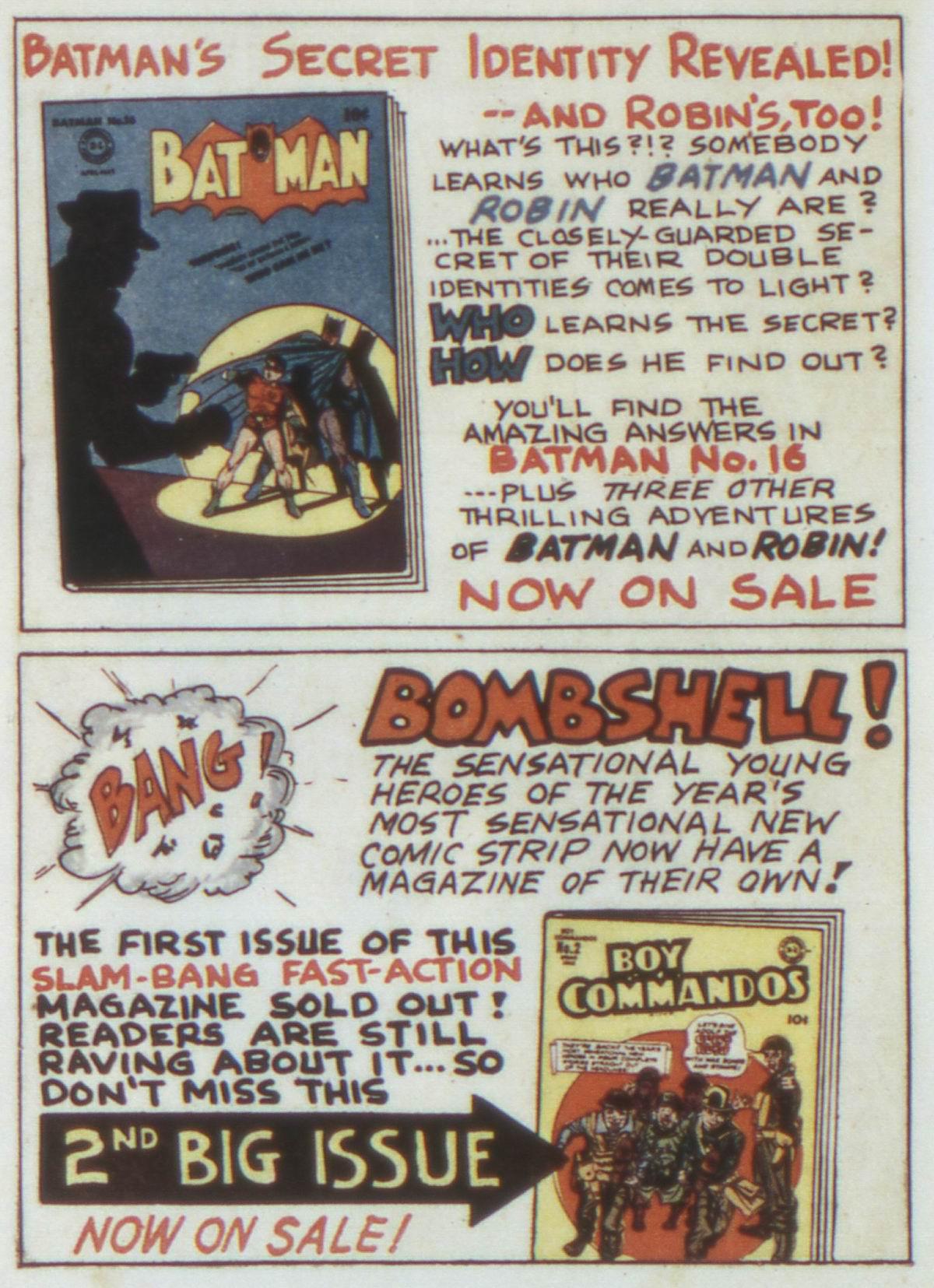 Read online Detective Comics (1937) comic -  Issue #74 - 16