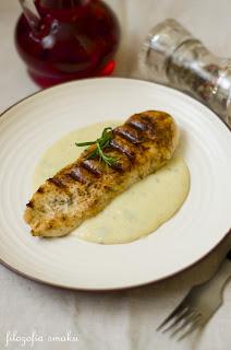 (kurczak w sosie z gorgonzoli