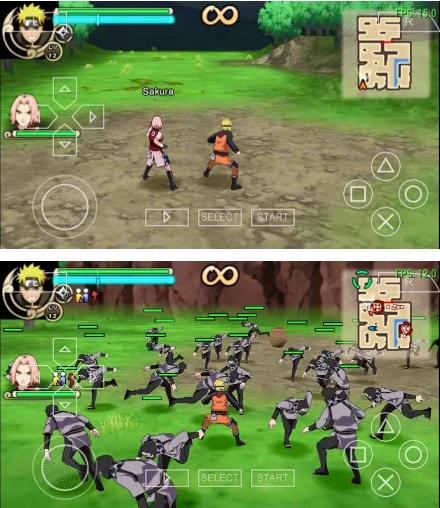 Download Game Naruto Ultimate Ninja Impact High Compress
