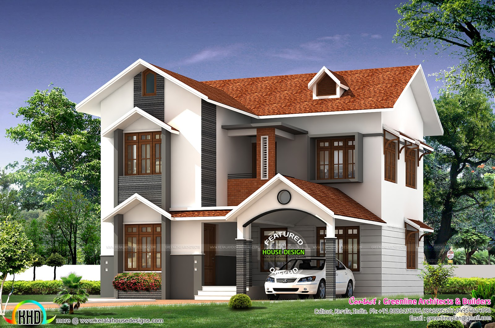 Simple cute home architecture kerala home design and for Cute house plans