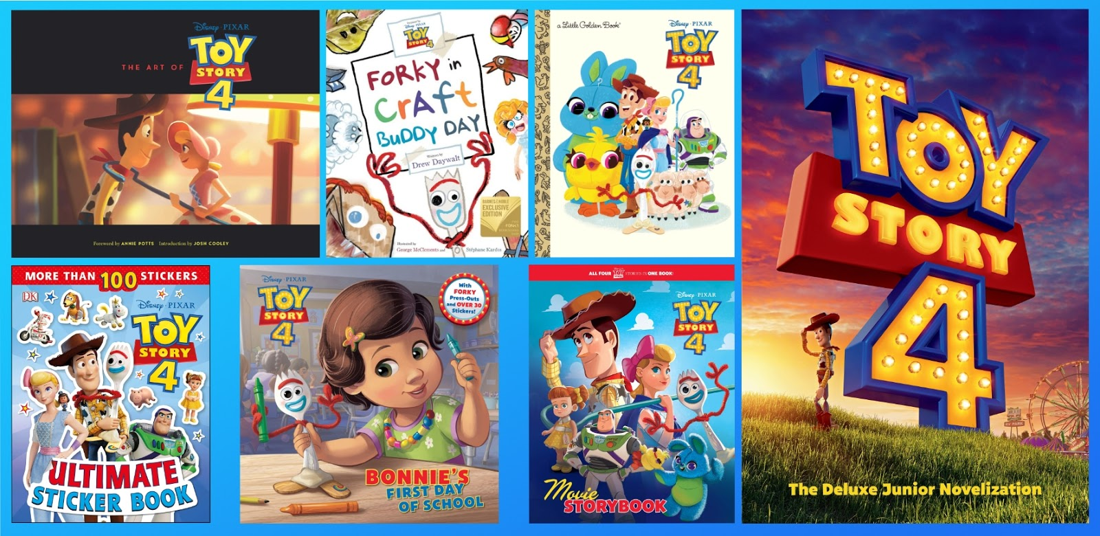 Take a Peek at 25 Different \'Toy Story 4\' Themed Books — The Art of ...
