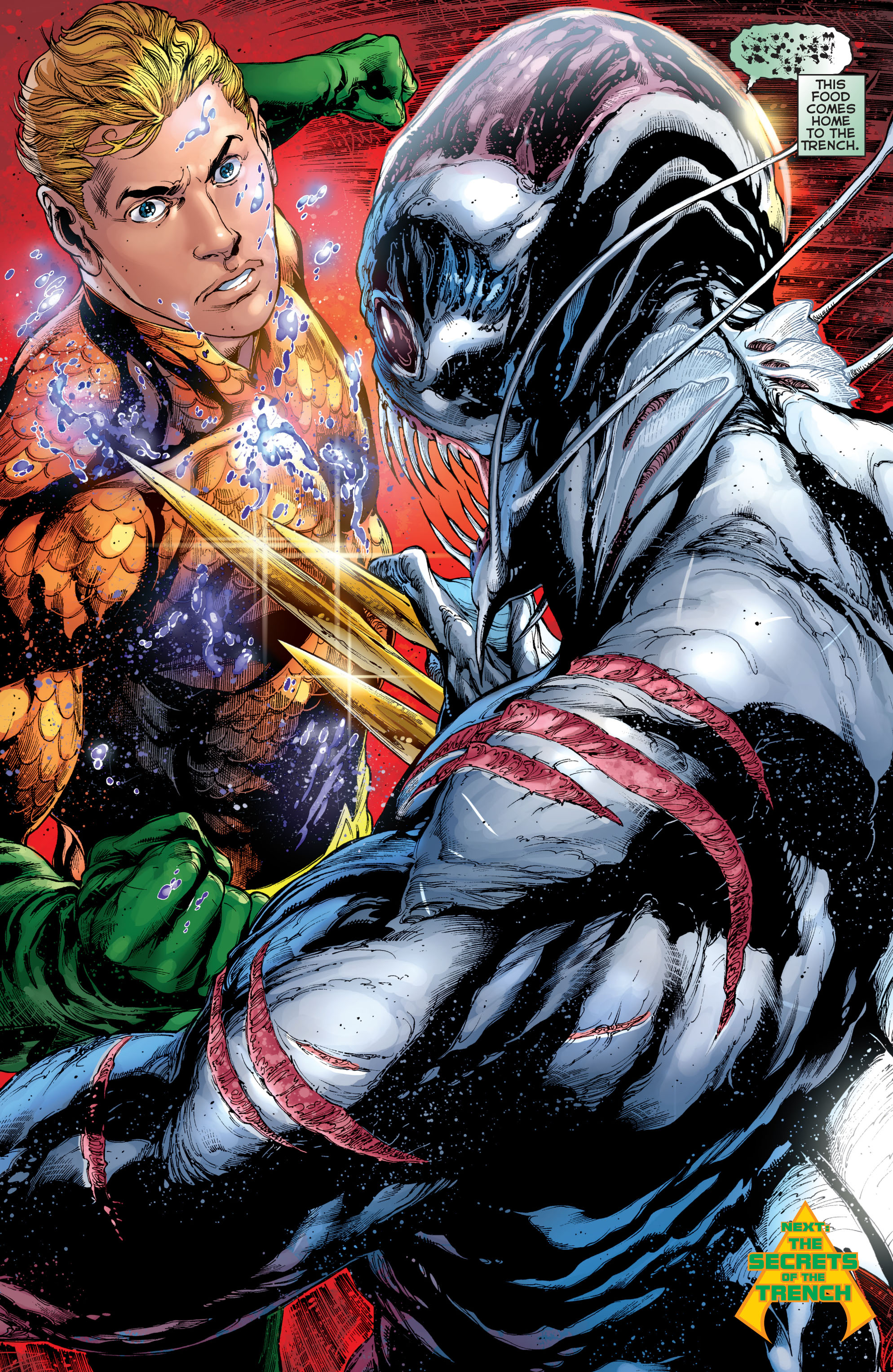 Read online Aquaman (2011) comic -  Issue #2 - 20