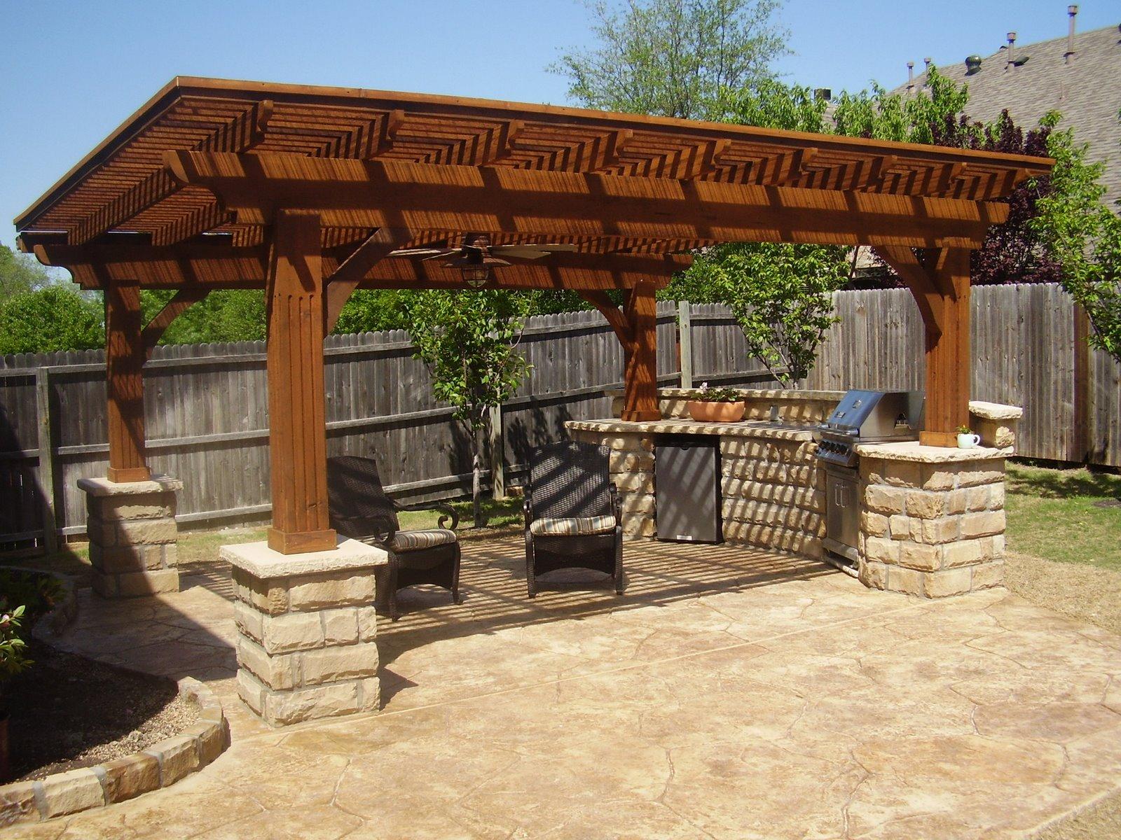 outdoor summer kitchen fresh modern design %25283%2529