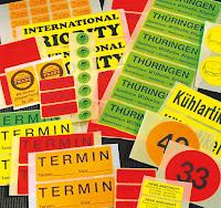 Etiketten für Markierungen und Hinweise