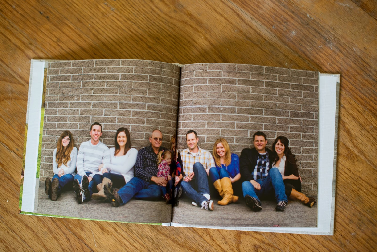 Family Photo Session Photo Book--create a photo book from your professional family photo session to be able to look back on for years to come! When you change out the photos in frames around the house, you will still have this book to flip through!