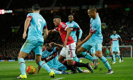 Video Cuplikan Gol West Ham 0-0 MU   Liga Inggris Pekan 38