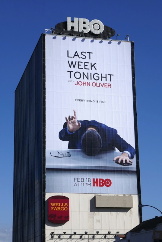 Giant Last Week Tonight John Oliver season 5 billboard