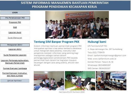 Contoh Laporan Pengelolaan Sistem Informasi Manajemen Sekolah Kumpulan Contoh Laporan