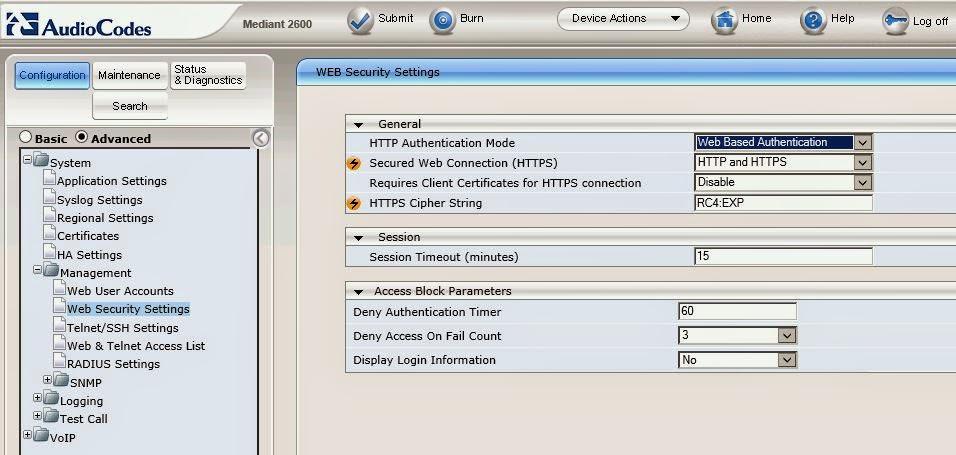 ucomsGeek: Updated: Script(s) to Backup AudioCodes Gateways