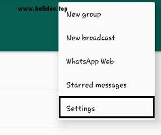 Cara Mengatur Read Receipts pada Aplikasi WhatsApp