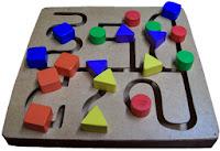 mainan edukatif maze geo