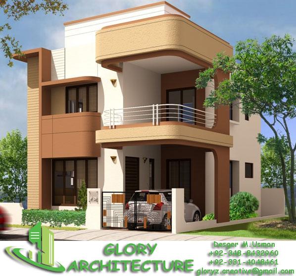25x50 House Elevation Islamabad House Elevation Pakistan