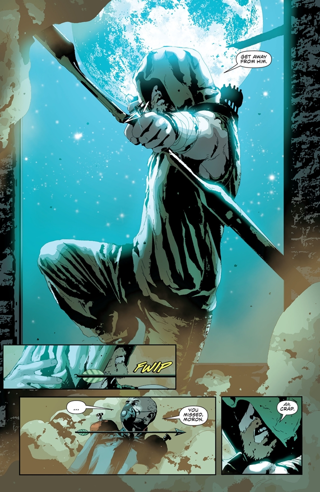 Andrea Sorrentino Arrow
