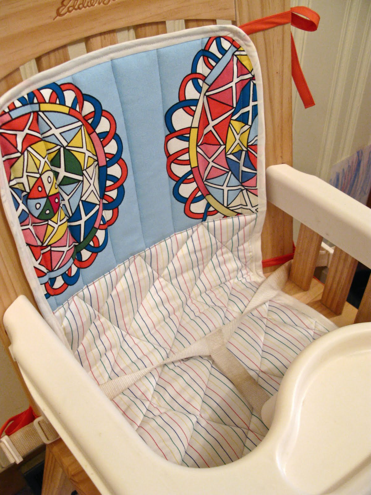 High Chair Cover Replacement Mamas And Papas Rattan Chairs For Sale Diy Seat Velcromag