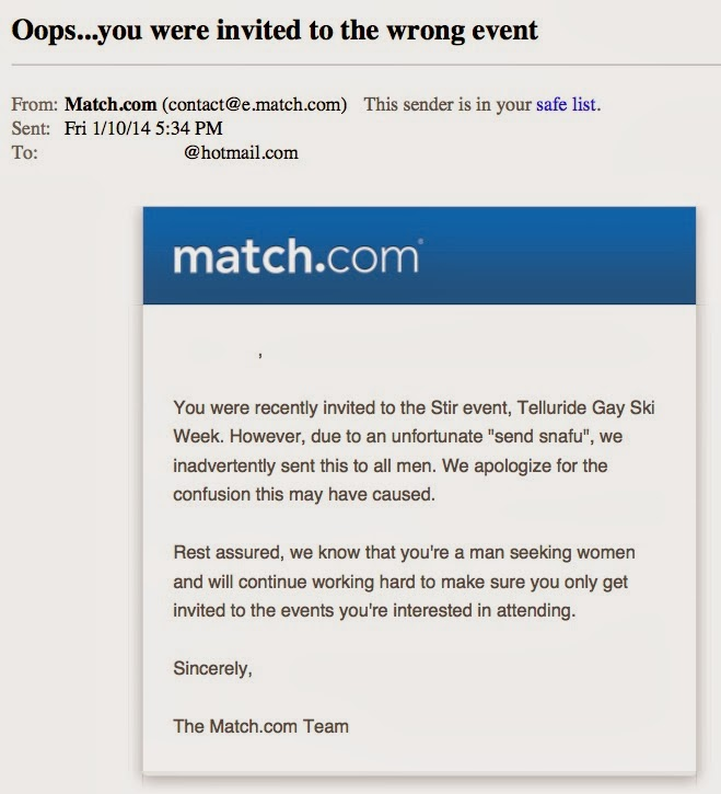 What to say on match email