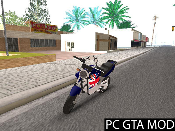 Free Download Fazer-250  Mod for GTA San Andreas.