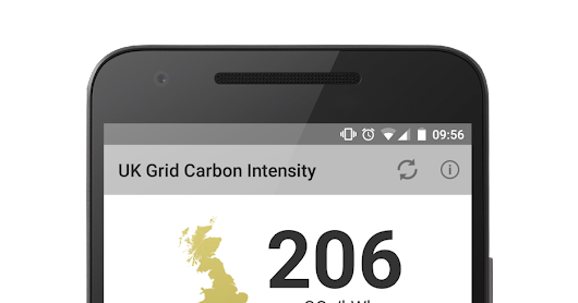 GridCarbon app updated to include solar
